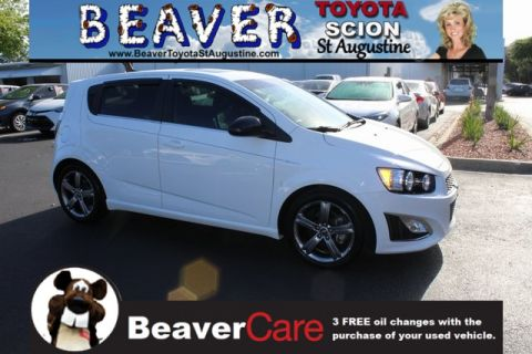 Used Chevrolet Sonic RS