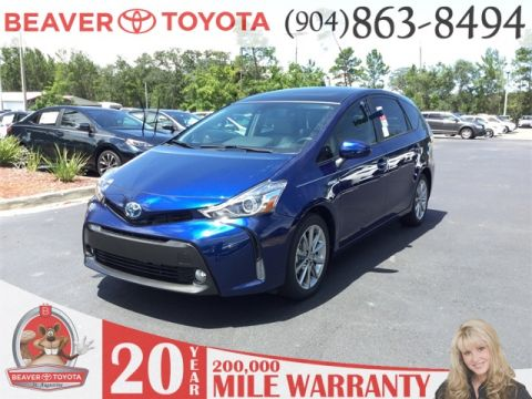 New Toyota Prius v Five