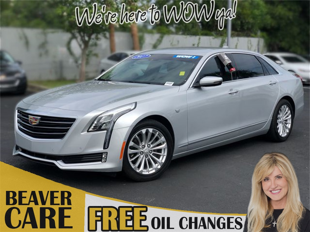 2017 Cadillac Ct6 2 0 L Turbo Luxury >> Pre Owned 2017 Cadillac Ct6 2 0l Turbo Luxury Rwd 4d Sedan