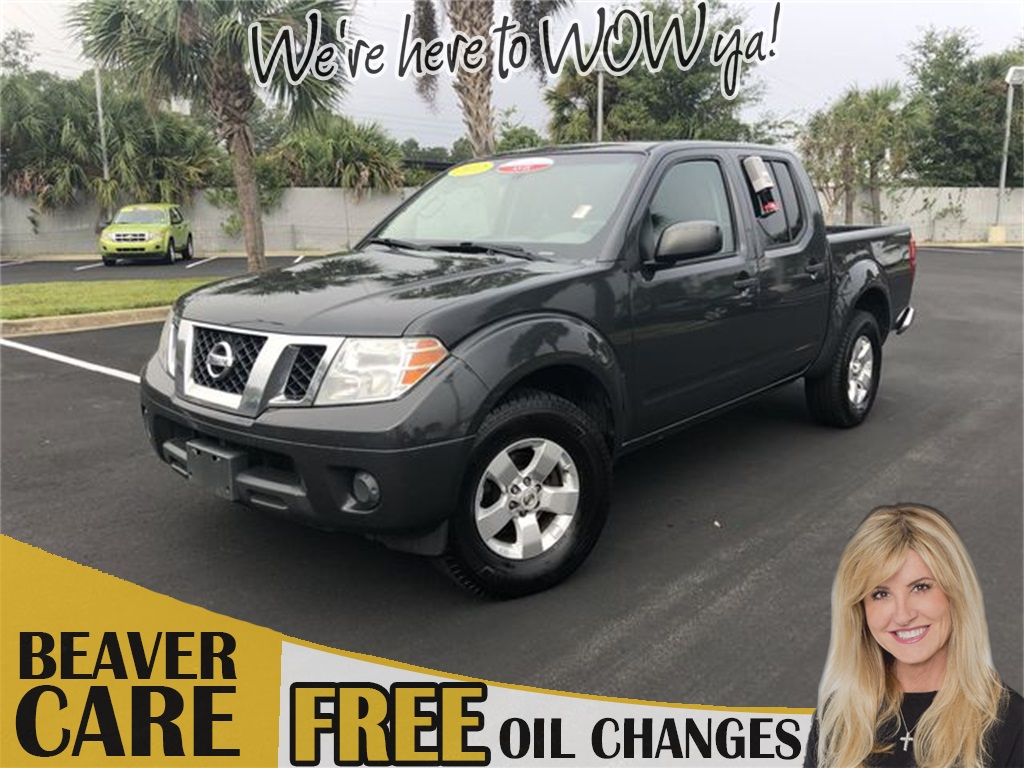 Pre-Owned 2012 Nissan Frontier SV
