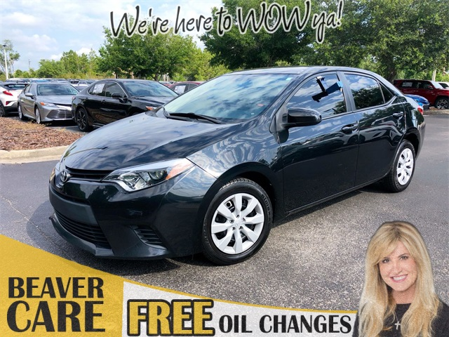 Certified Pre-Owned 2014 Toyota Corolla LE