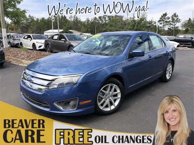 Pre Owned 2010 Ford Fusion Sel 4d Sedan In St Augustine 5590699b