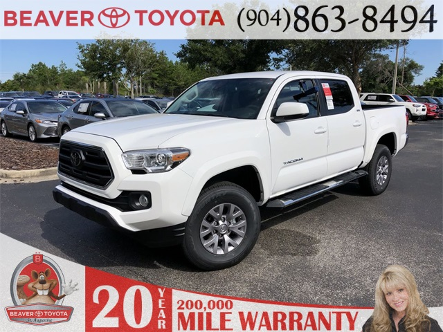 New 2019 Toyota Tacoma SR5 4D Double Cab