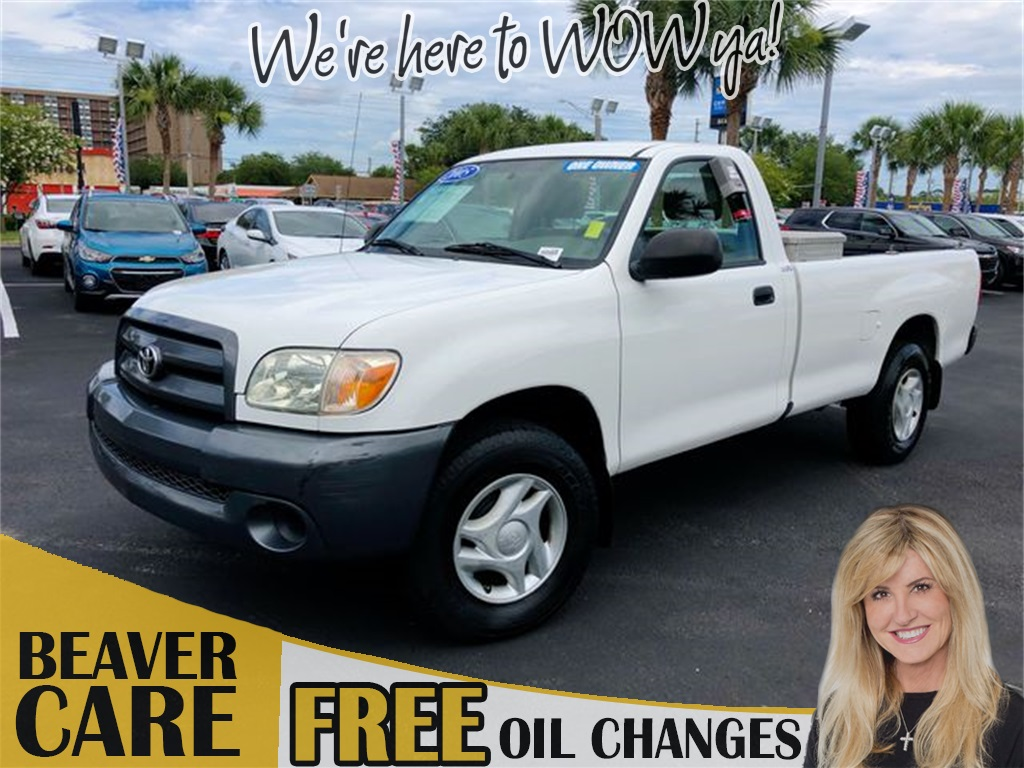 Pre-Owned 2005 Toyota Tundra Base