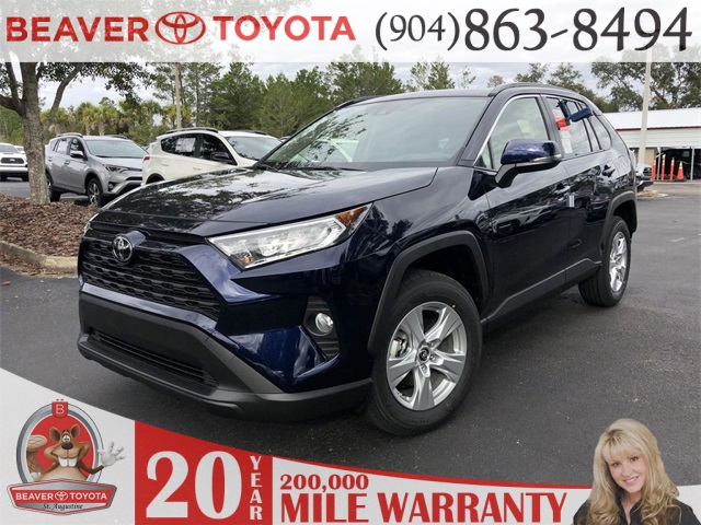 New 2019 Toyota Rav4 Xle 4d Sport Utility In St Augustine D002724