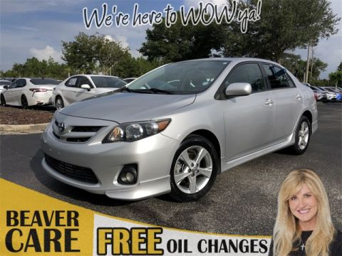 Pre-Owned 2012 Toyota Corolla S