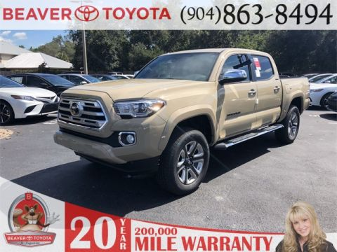 New 2018 Toyota Tacoma Limited