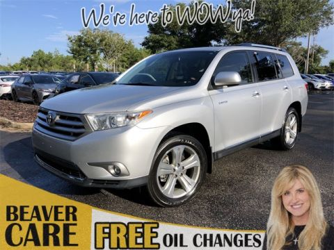 Certified Pre-Owned 2013 Toyota Highlander LTD