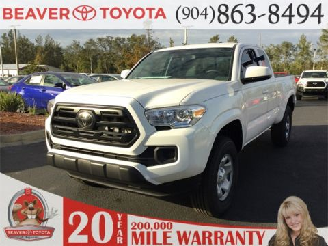2017 Toyota Tacoma Sr Manual 4wd Access Cab >> 34 New Toyota Tacoma For Sale in St. Augustine | Beaver Toyota